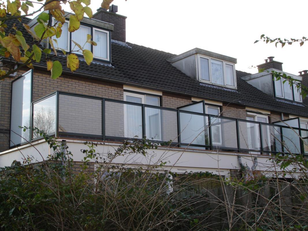 Glazen Balustrade Renoparts Balkonhekken