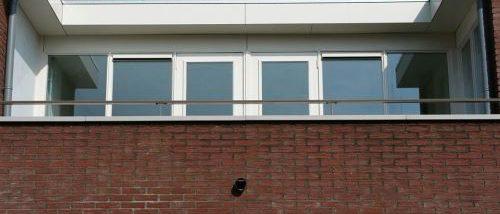 Leuning op een balkon